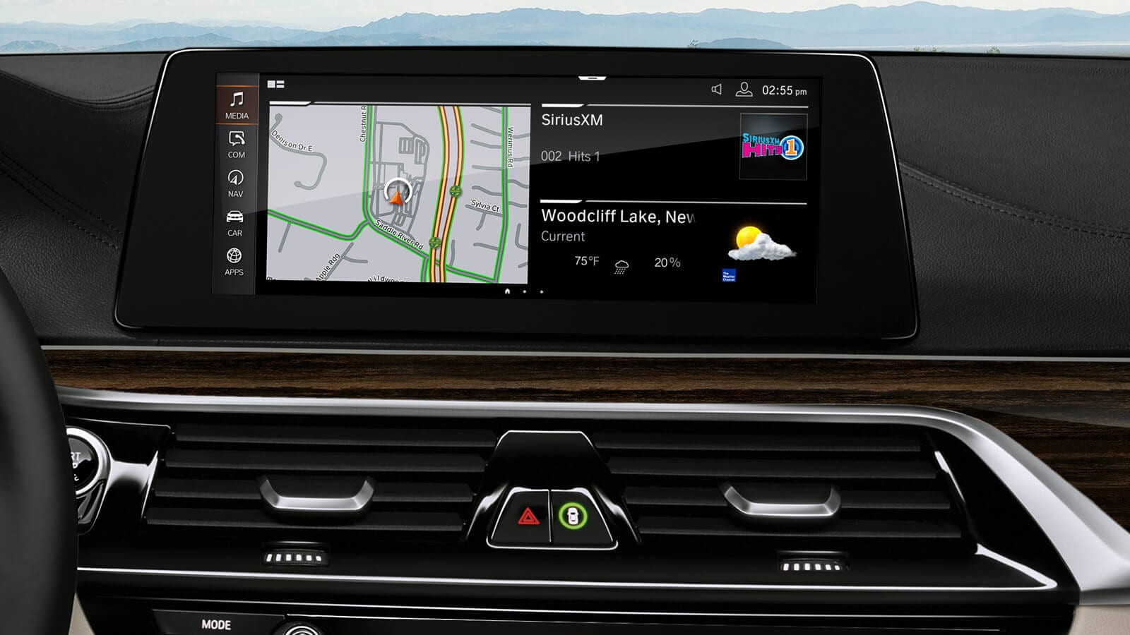 2019 BMW 5 Series Touchscreen