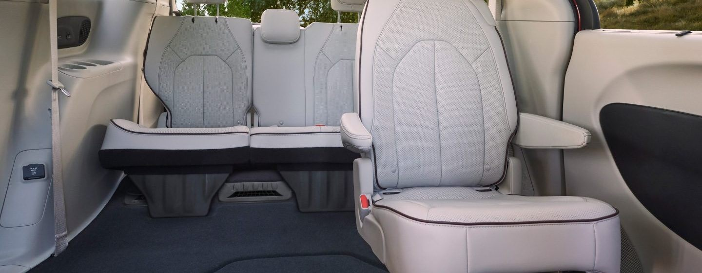 2020 Chrysler Pacifica with Second-Row Folding Seat