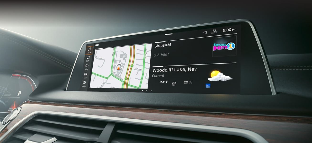 2020 BMW 7 Series Touchscreen