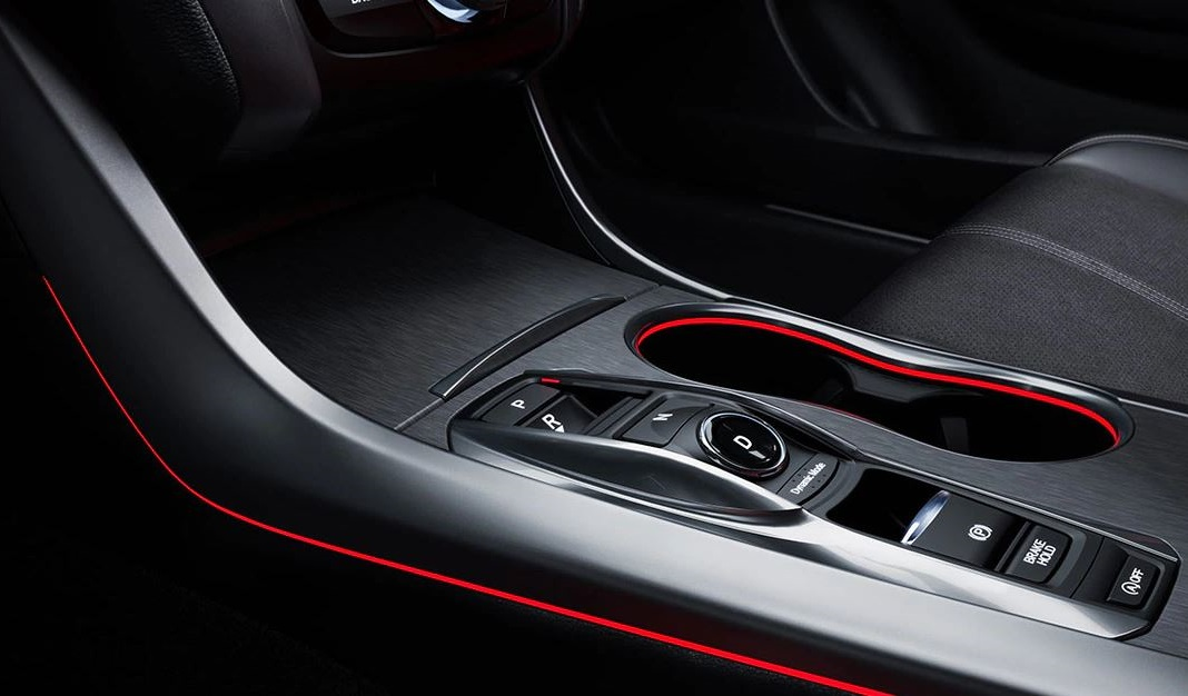 2020 Acura TLX Center Console