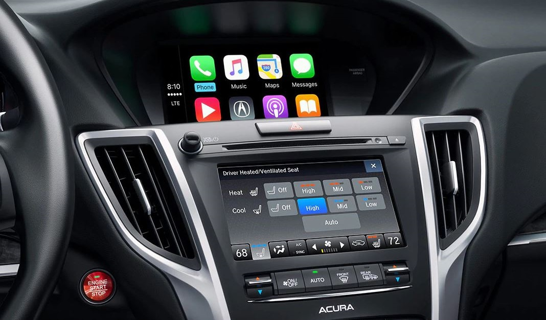 2020 Acura TLX Touchscreen Display