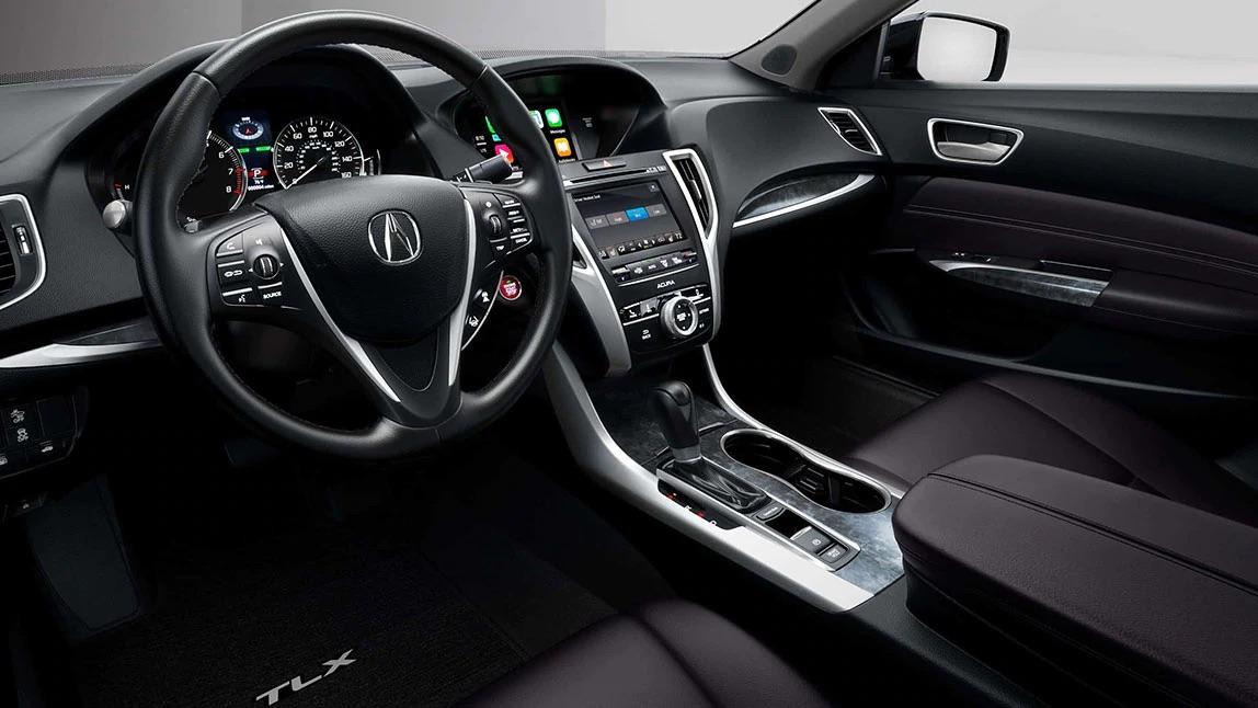 El interior de lujo del Acura TLX 2020