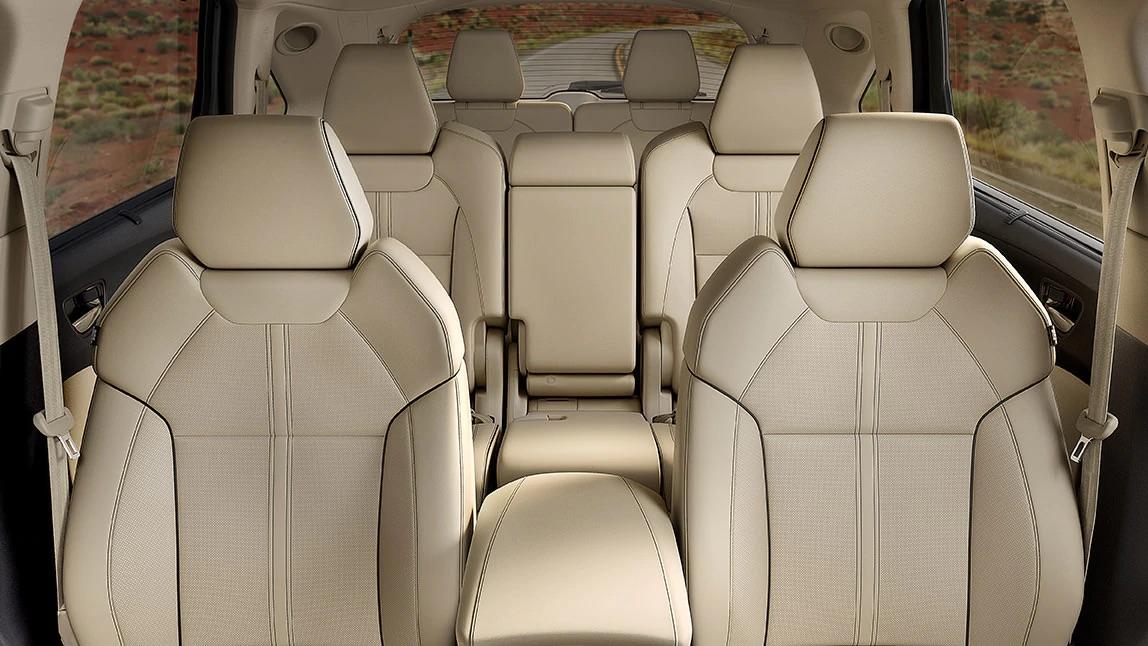 Impactante interior del Acura MDX 2020