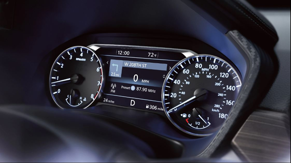 2020 Nissan Altima AWD Instrument Cluster
