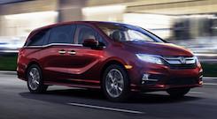 2020 Honda Odyssey Near Houston