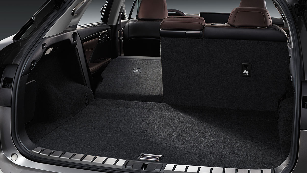 Cargo Space in the 2019 RX 350