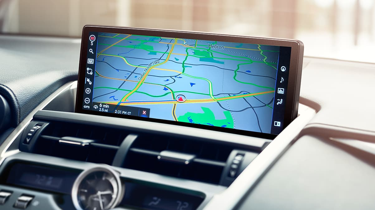 Touchscreen in the 2020 NX 300