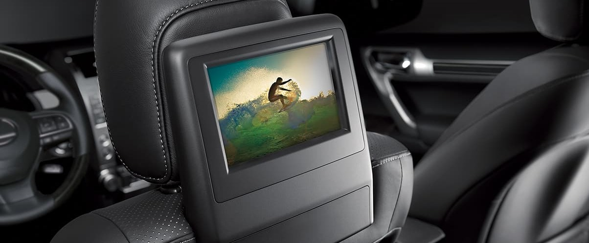 Rear Seat Entertainment in the 2020 GX 460