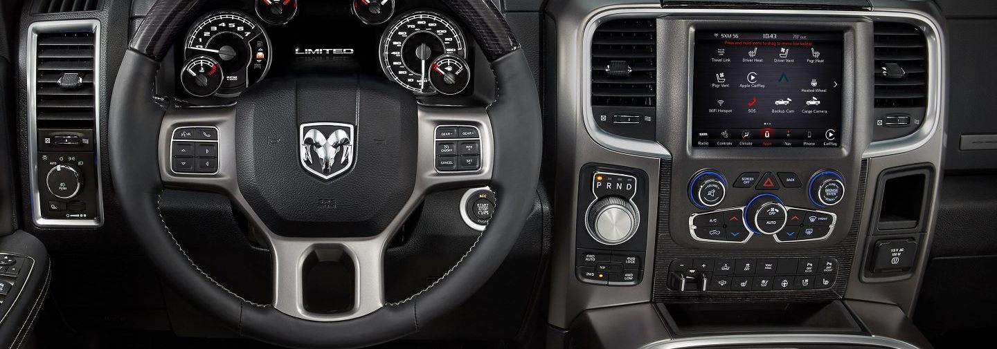 2019 Ram 1500 Front-Row Features