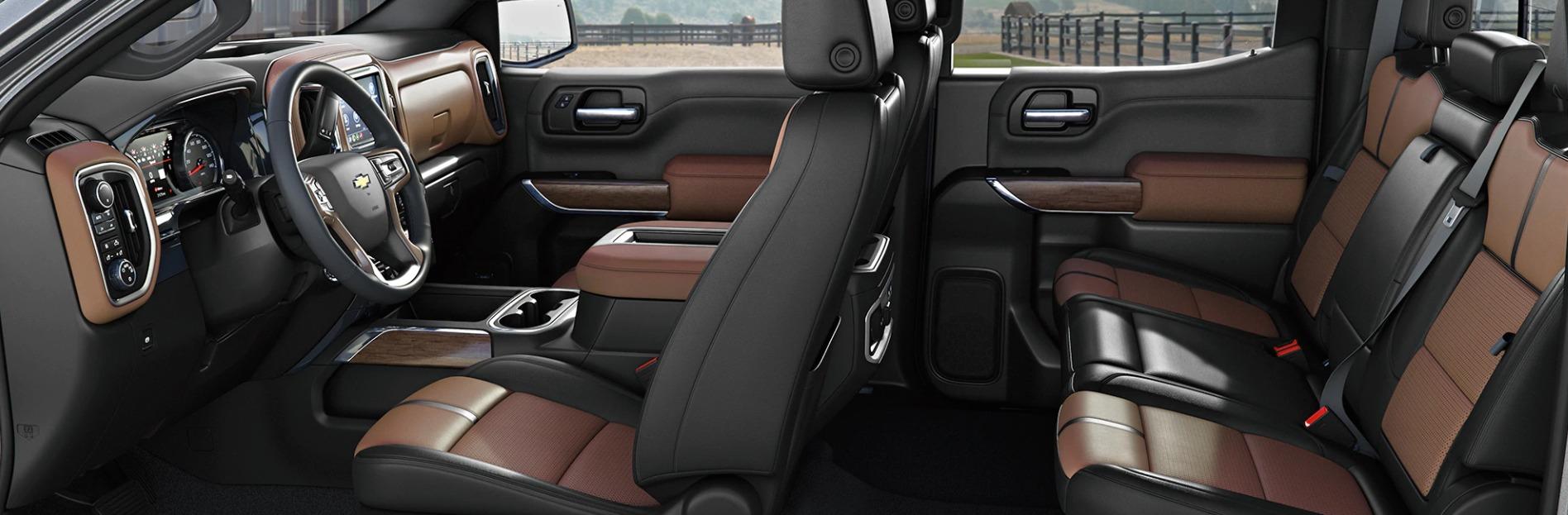 The Luxurious Interior of the 2020 Chevrolet Silverado 1500