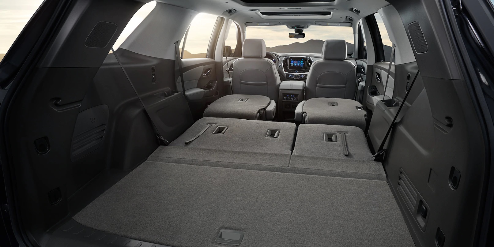 Extensive Cargo Space in the 2020 Traverse