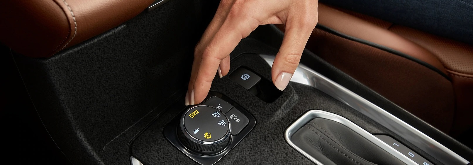 Traction Mode Select in the 2020 Traverse