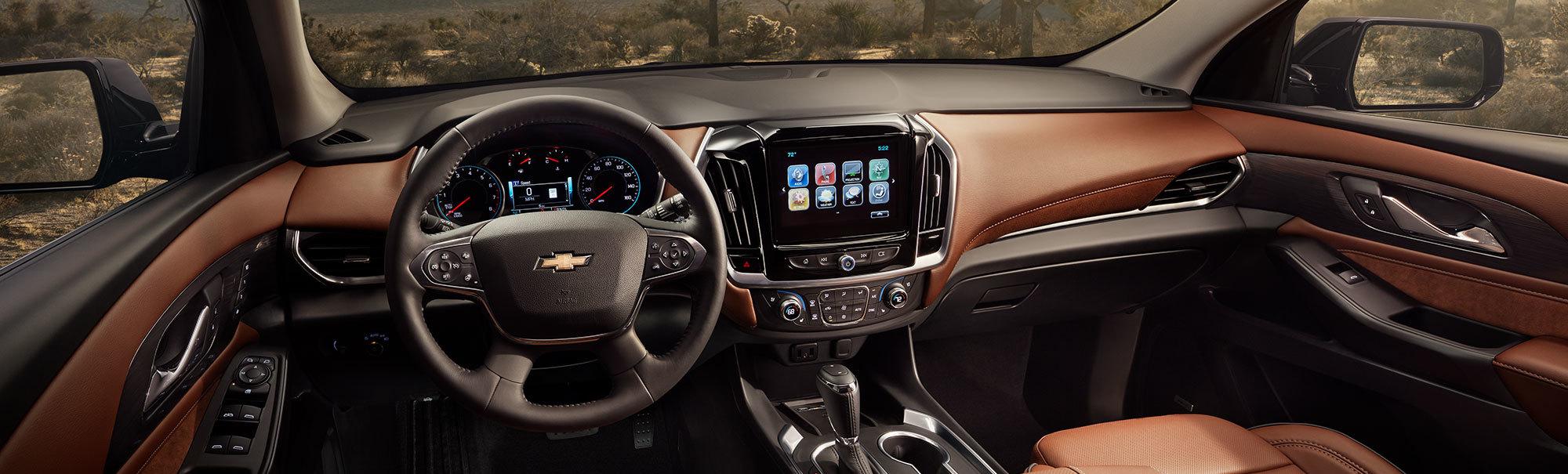 2020 Chevrolet Traverse Dashboard
