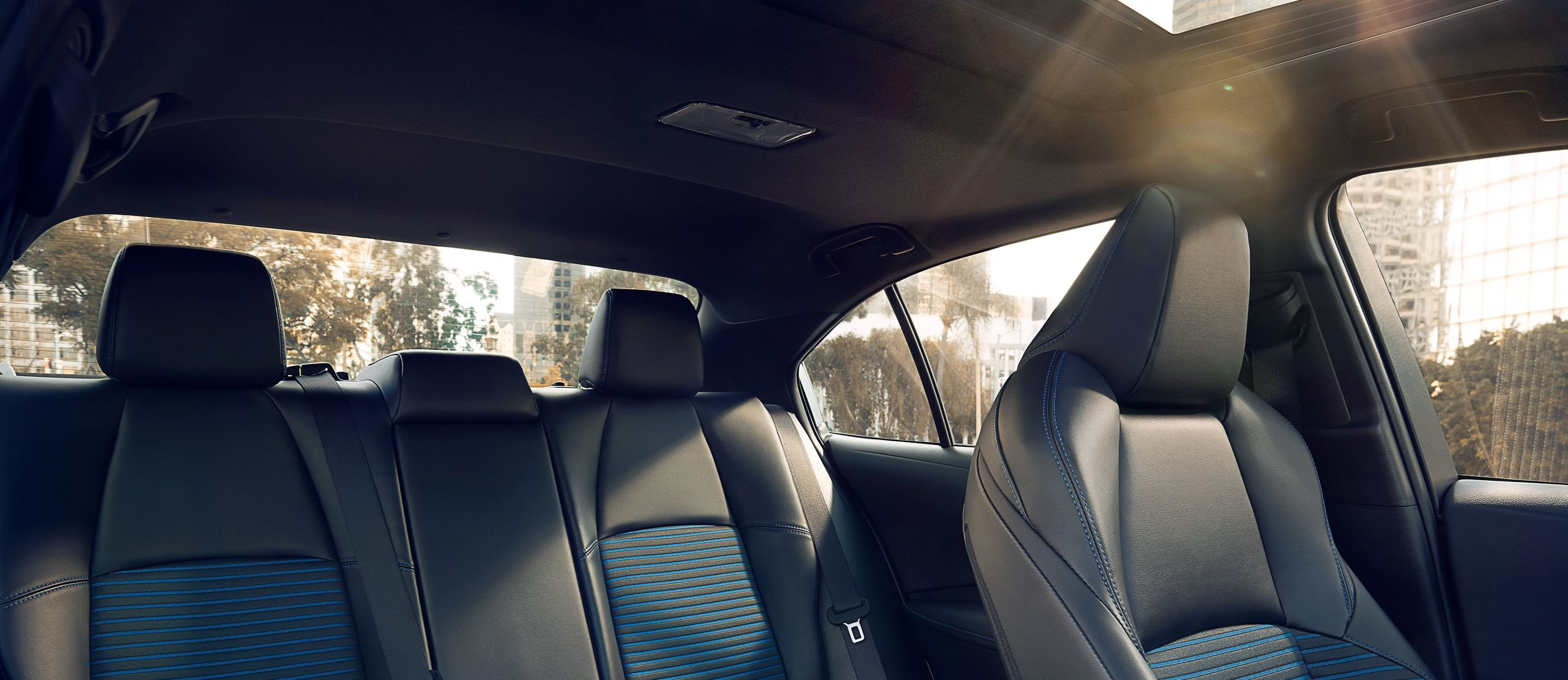 Supple and Sporty Seating in the 2020 Corolla!
