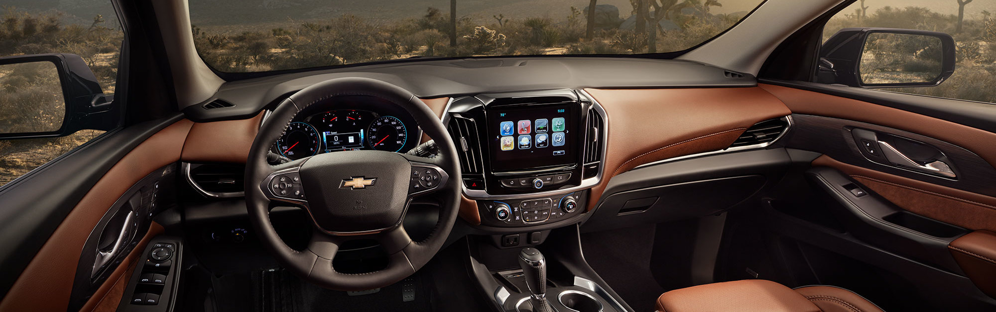 2020 Chevrolet Traverse Dashboard