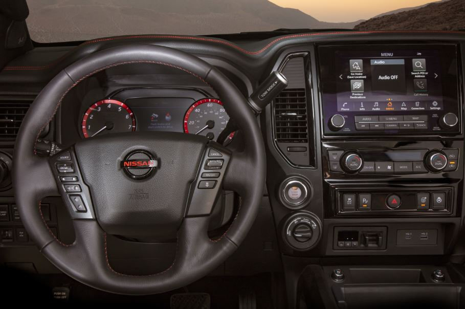 2020 Nissan Titan Steering Wheel