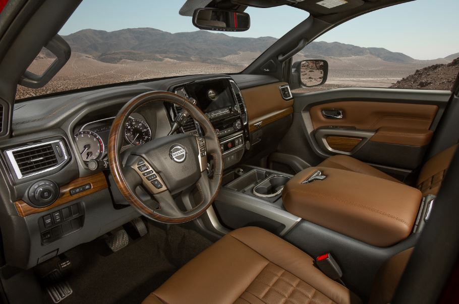 Spacious Interior of the 2020 Nissan Titan