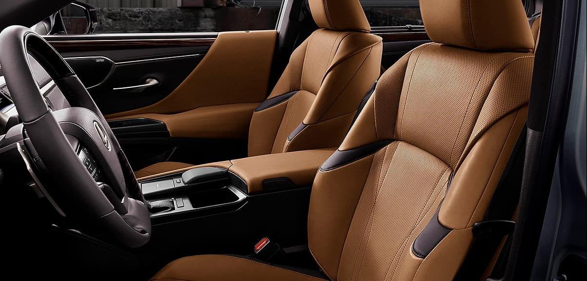 Cozy Seats in the 2020 Lexus ES 350
