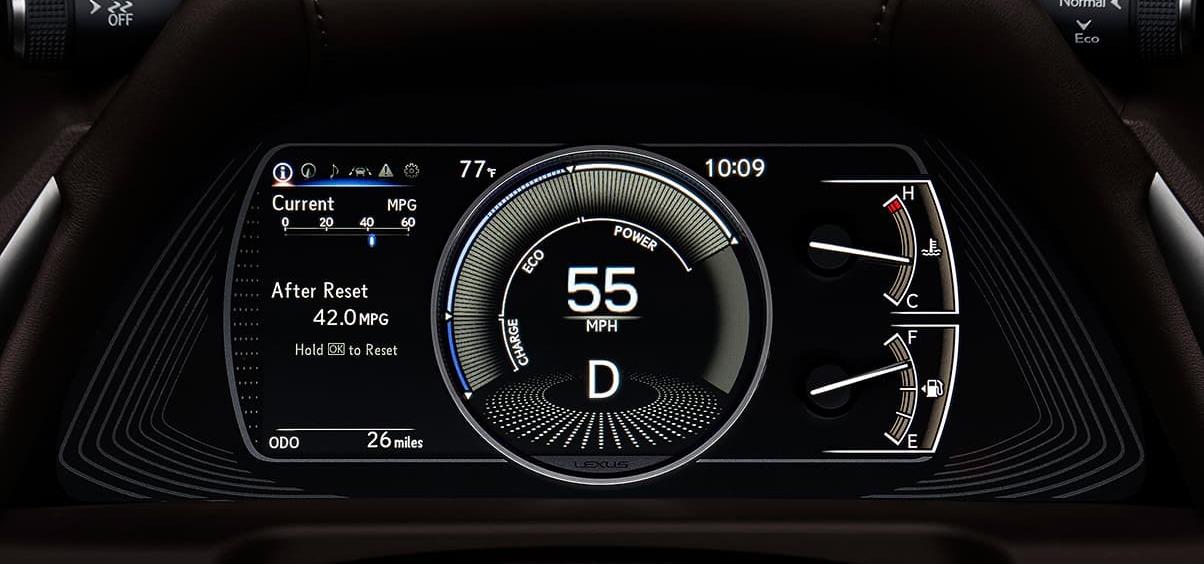 2020 ES 350 Instrument Panel