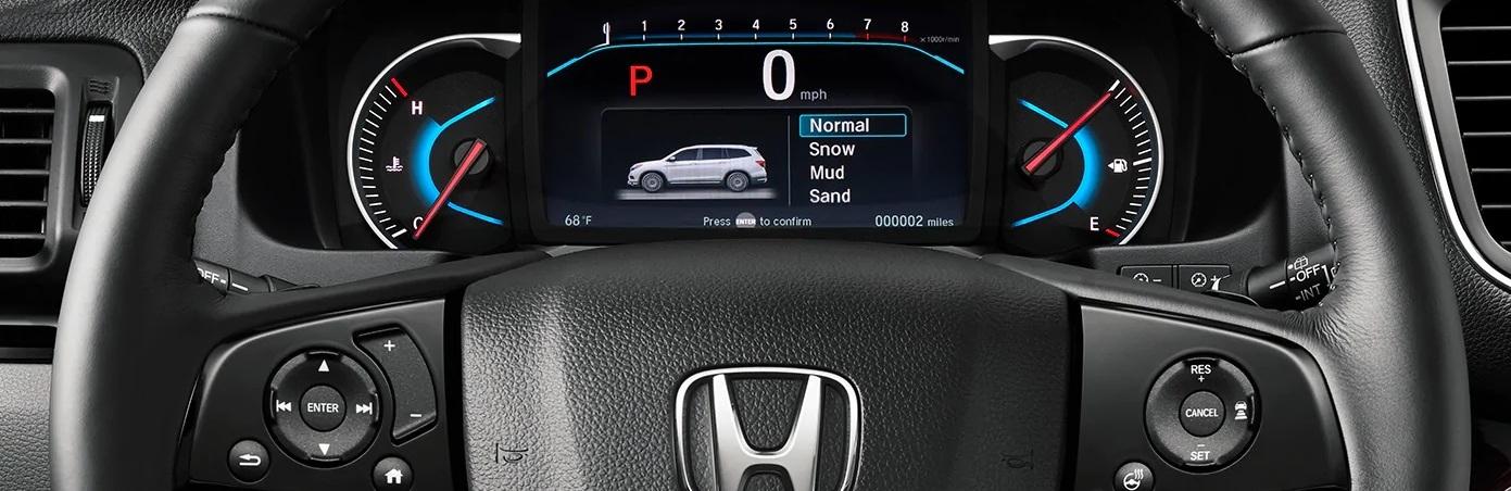 2020 Honda Pilot Steering Wheel