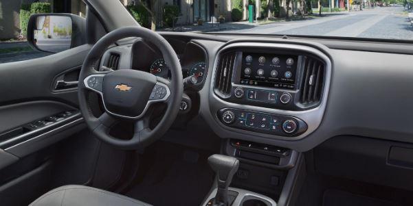 El interior de la Chevrolet Colorado está equipado con todo lo que necesitas para hacer tu vida más fácil y divertida.