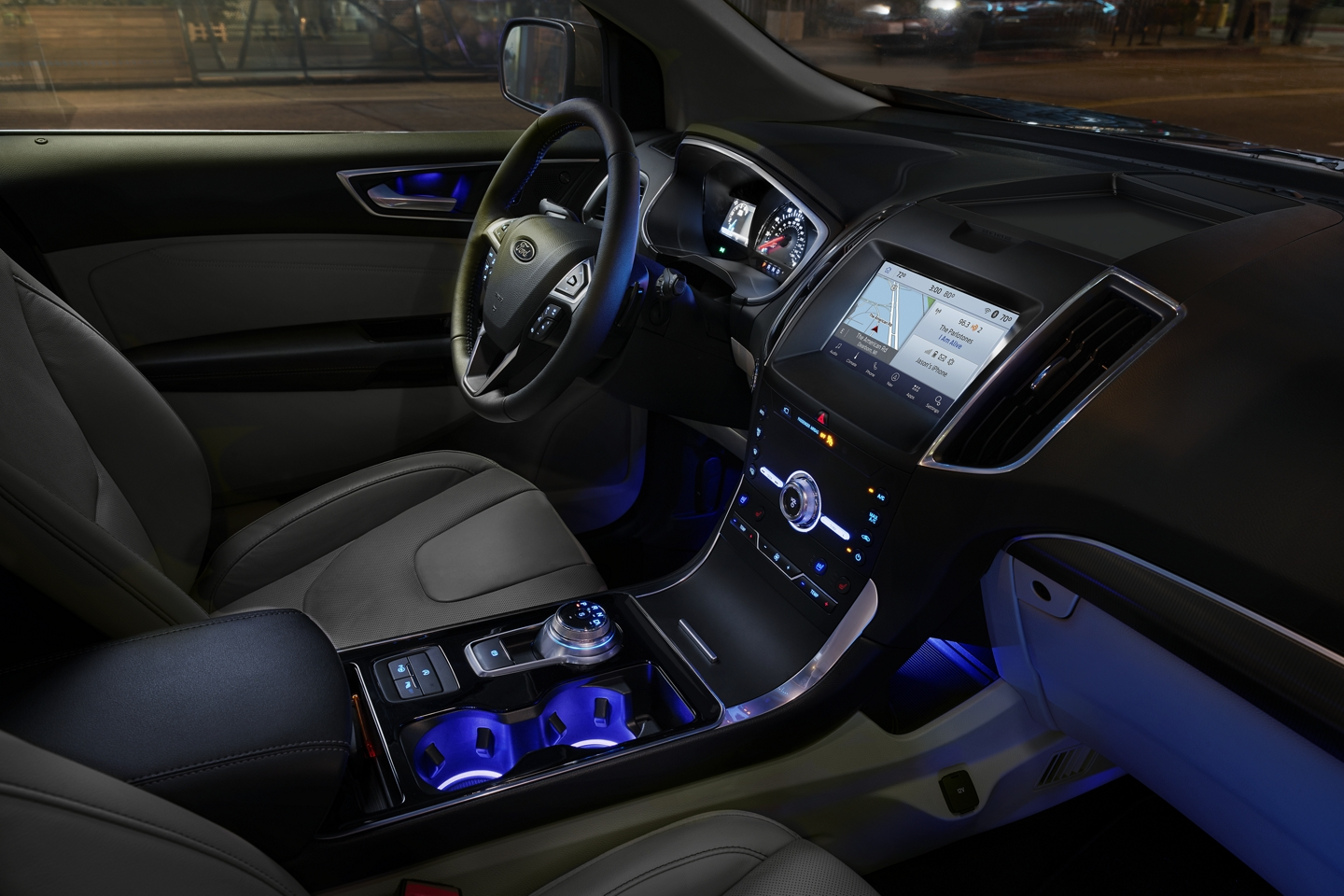 2020 Ford Edge Center Console