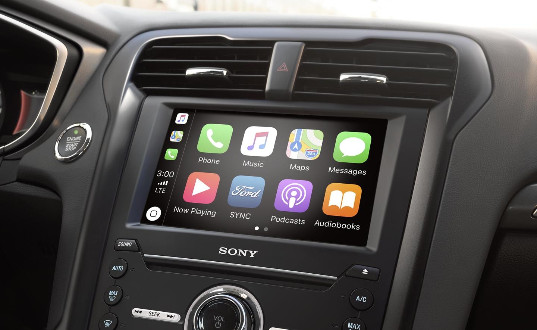 Apple CarPlay™ in the 2020 Fusion