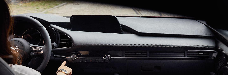2020 Mazda3 Sedan Front Dashboard