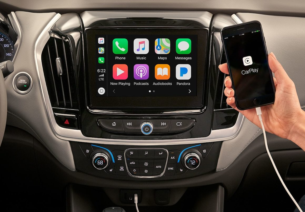 2020 Chevrolet Traverse Touchscreen Display