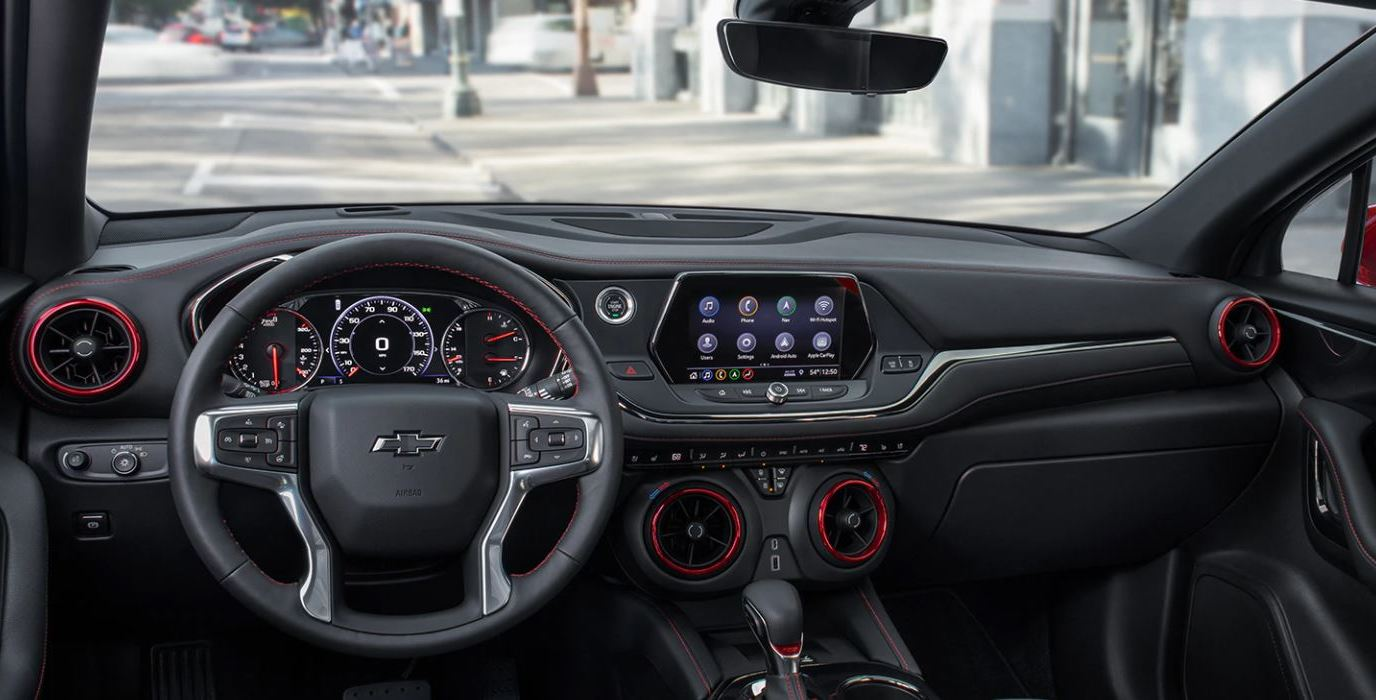 2020 Chevrolet Blazer Dashboard