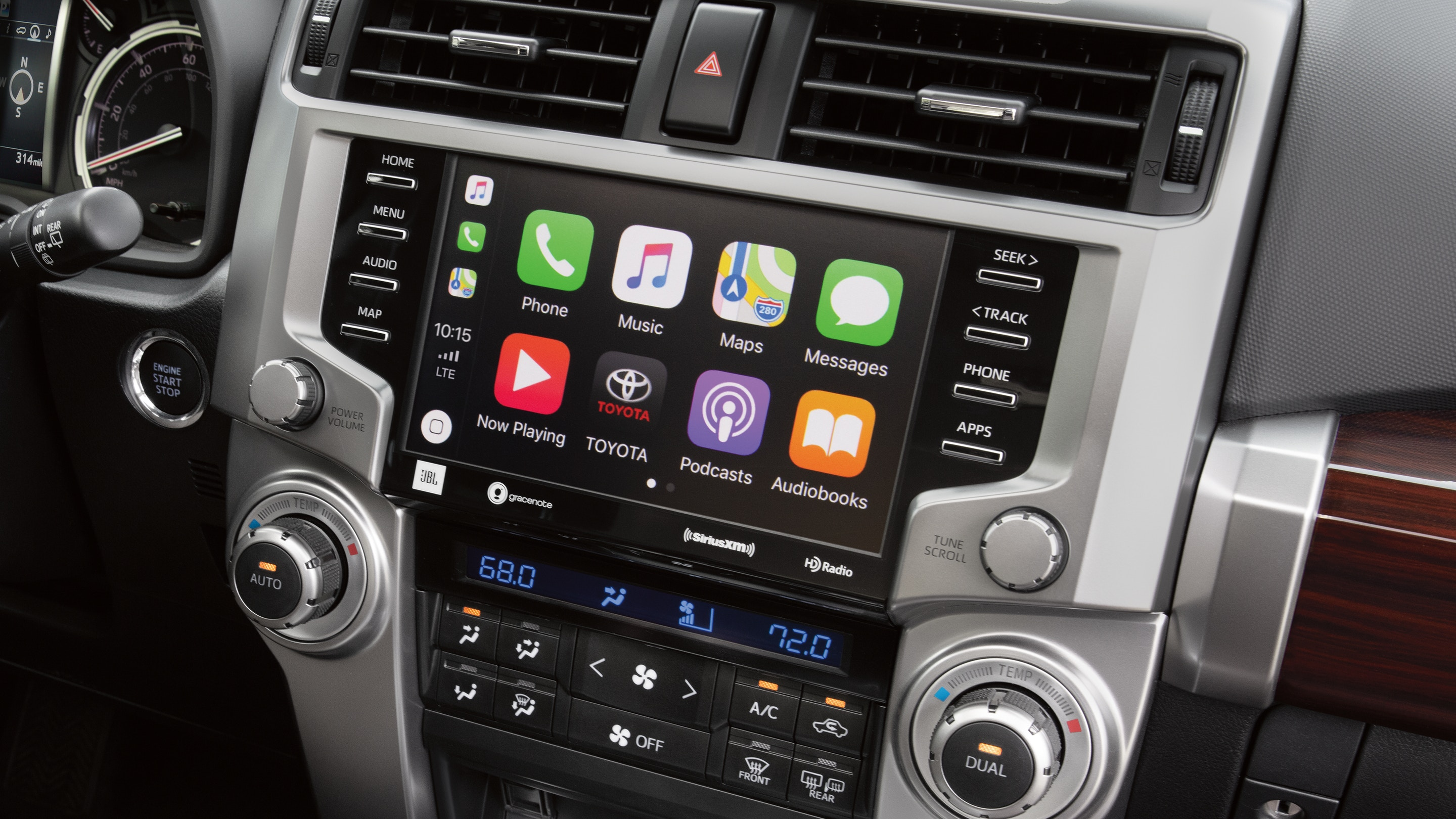 Touchscreen in the 2020 4Runner