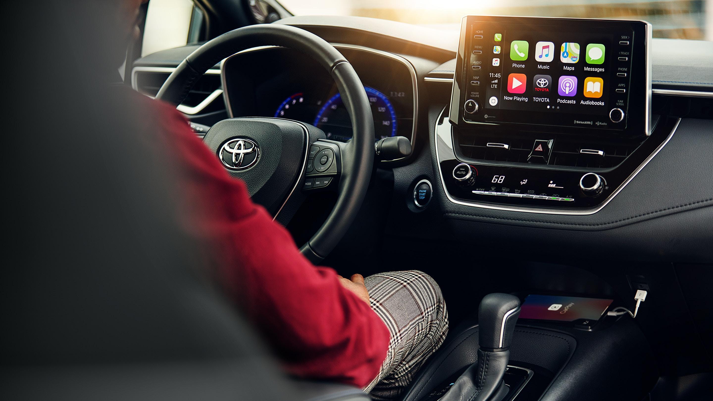 Apple CarPlay™ in the 2020 Corolla