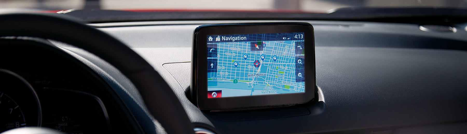 Navigation in the 2019 Mazda CX-3