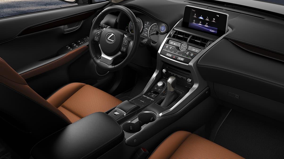 Upscale Interior of the 2020 Lexus NX 300