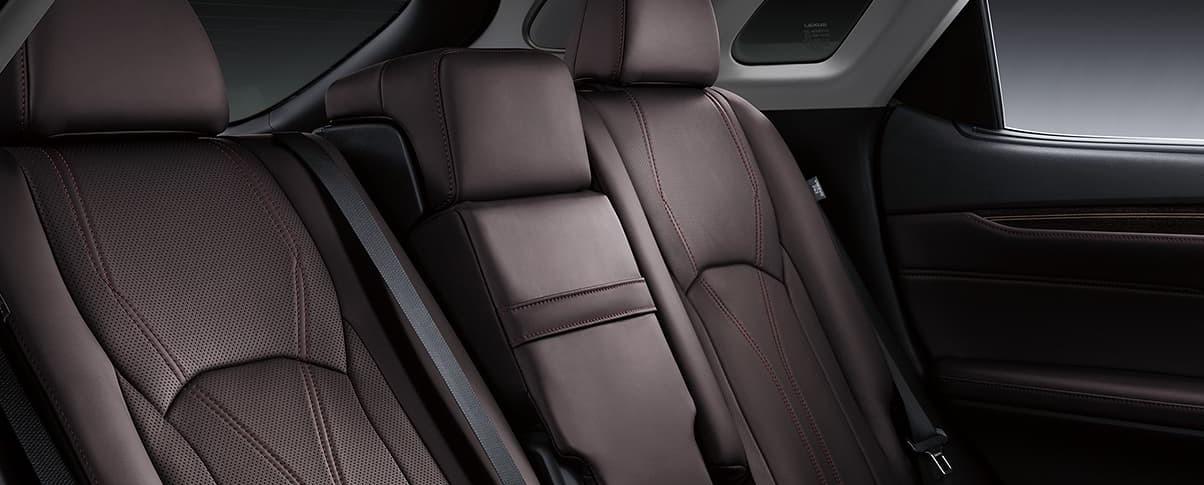 Power-Folding Rear Seats in the 2020 RX 350