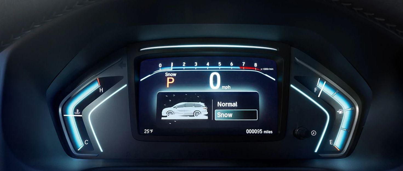 Information Display in the 2020 Honda Odyssey