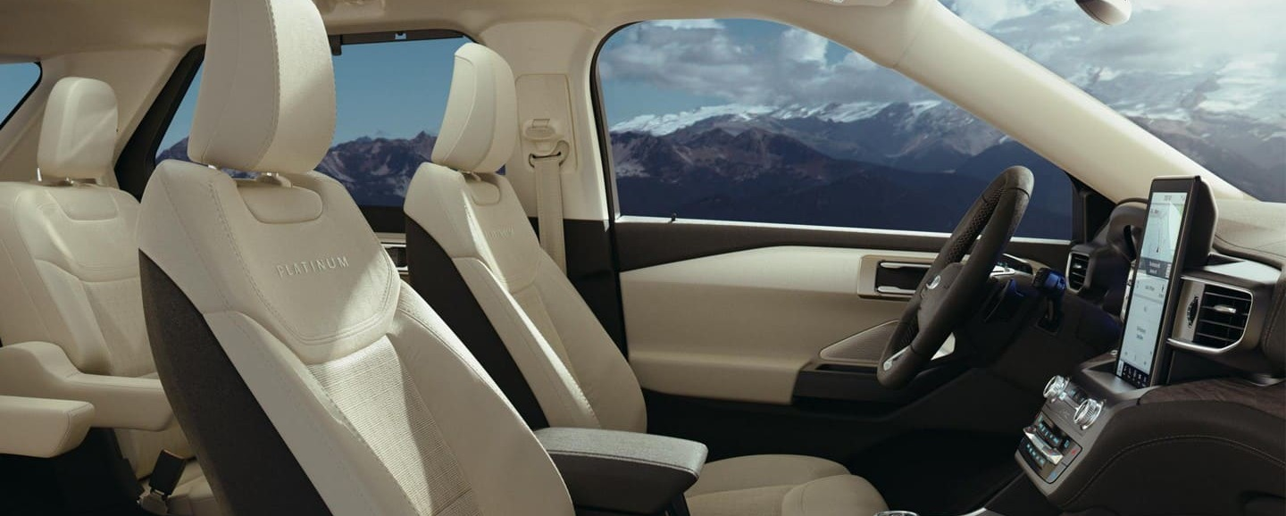 Upscale Cabin of the 2020 Explorer