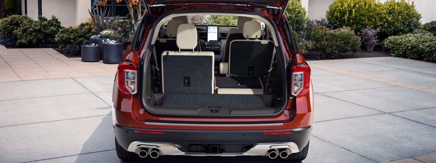 Spacious Storage in the 2020 Explorer