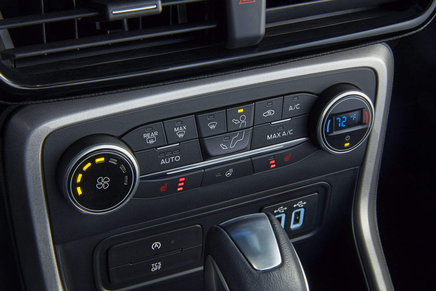 Climate Controls in the 2020 EcoSport