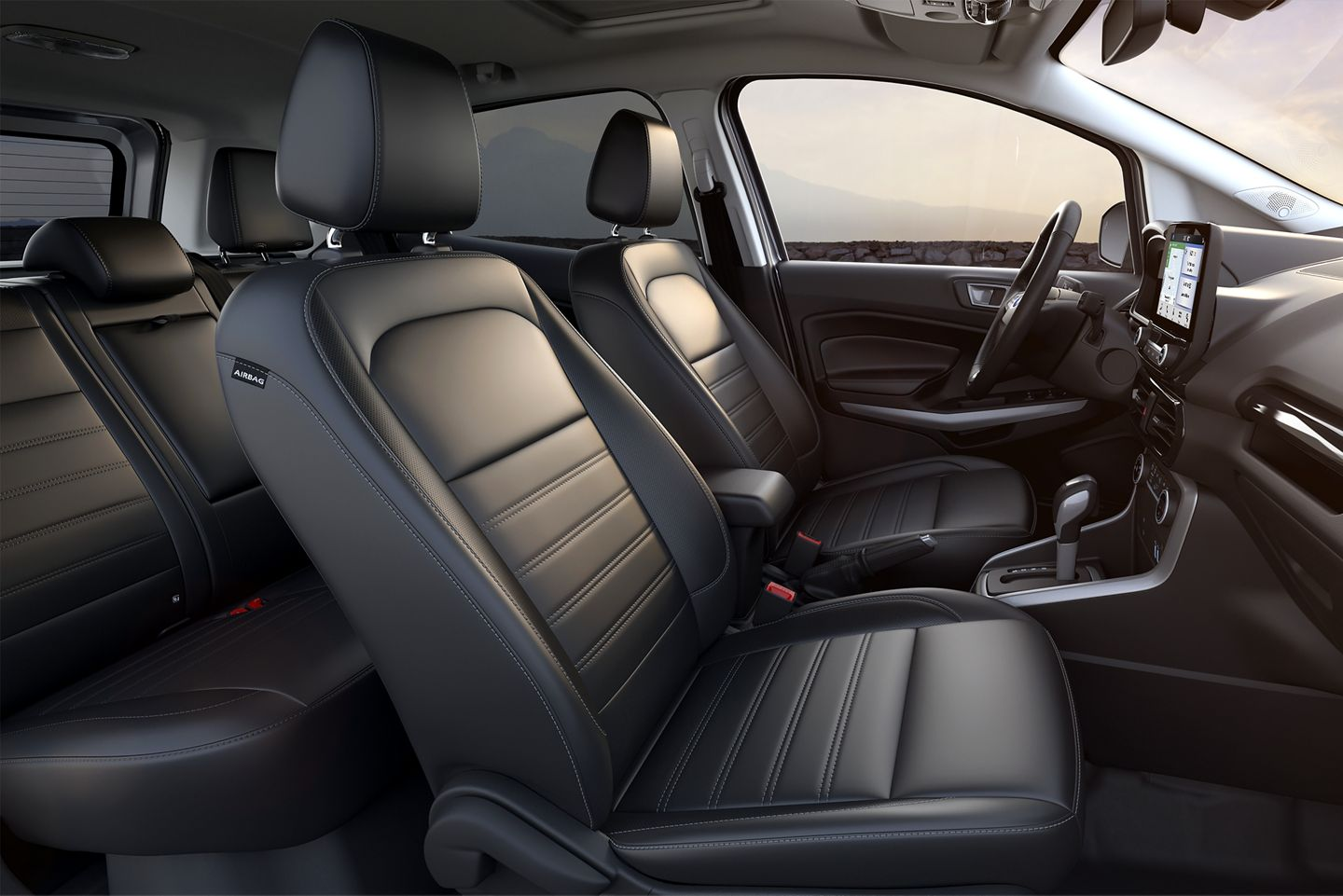 Interior of the 2020 Ford EcoSport
