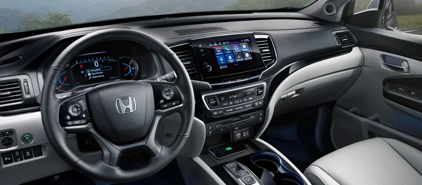 Front Seats of the 2020 Honda Pilot