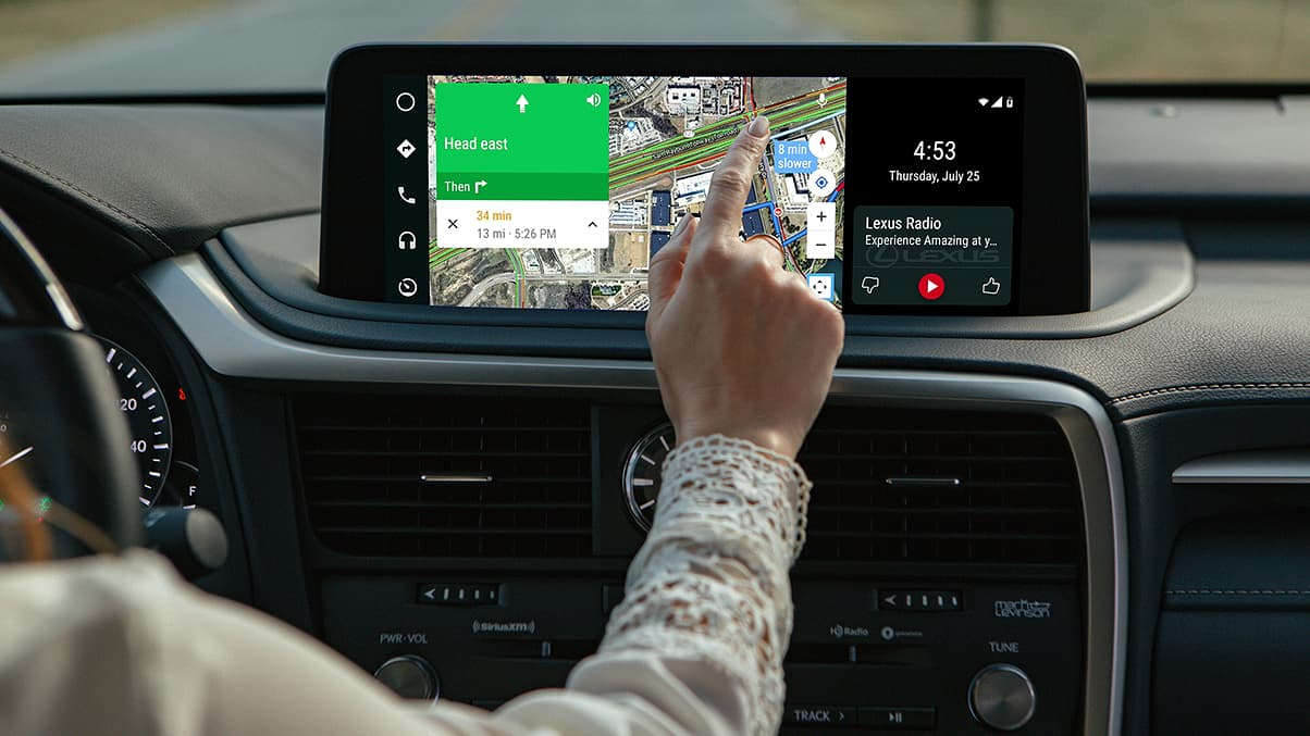 Android Auto™ in the 2020 RX 350