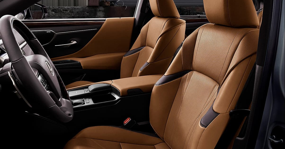 Upscale Comfort in the 2020 Lexus ES 350