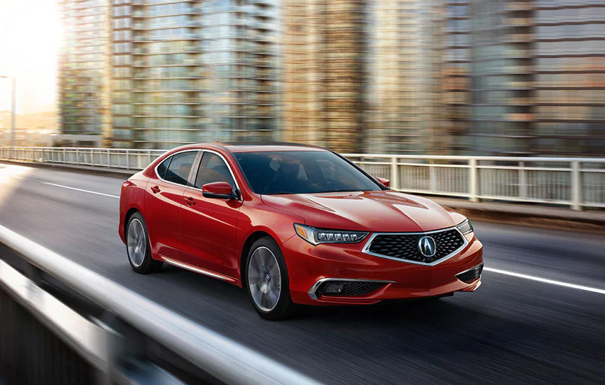 2020 Acura TLX Leasing near Orland Park, IL