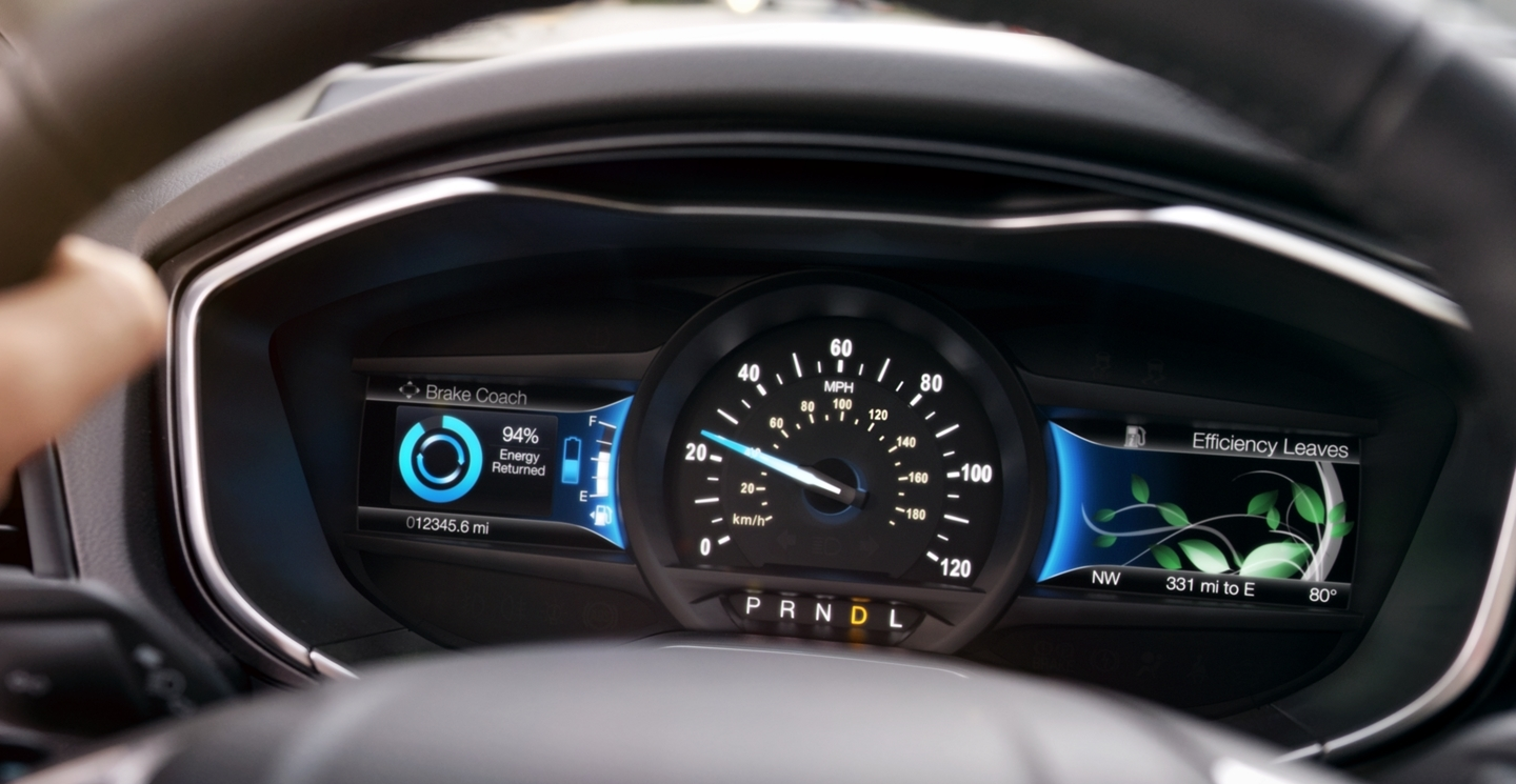 2020 Ford Fusion LCD Display