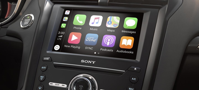 Apple CarPlay in the 2020 Fusion!