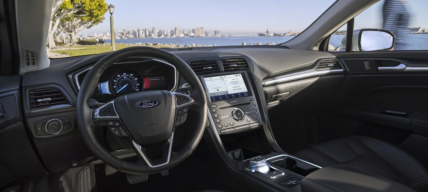 2020 Ford Fusion Dashboard