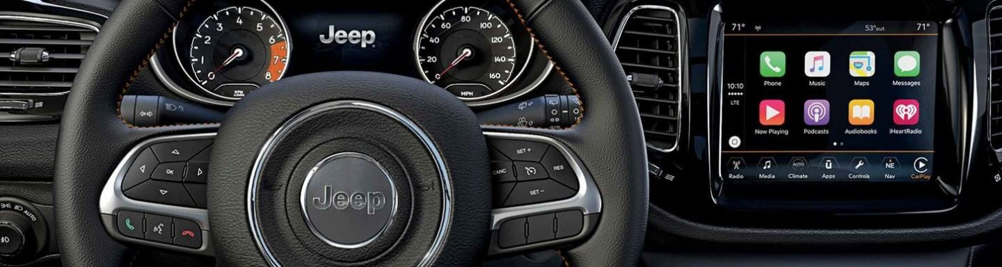 2020 Jeep Compass Steering Wheel and Technology