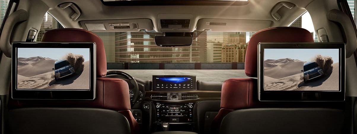 2020 LX 570 Rear-Seat Entertainment System