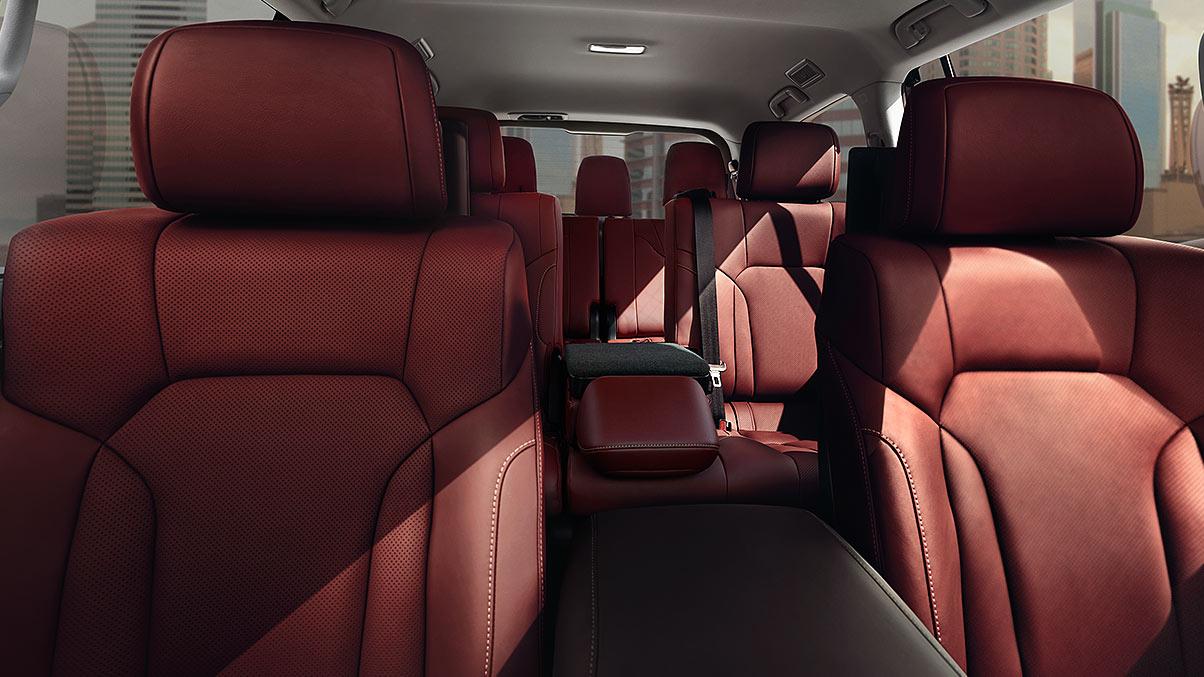 Spacious Interior of the 2020 Lexus LX 570